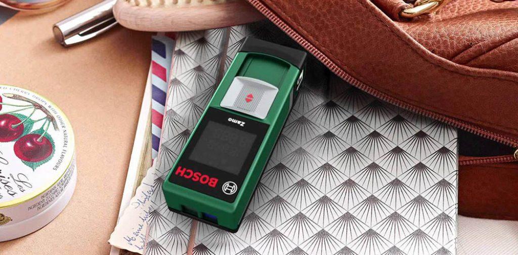 Le télém-tre laser Bosch Zamo idéal pour le bricolage